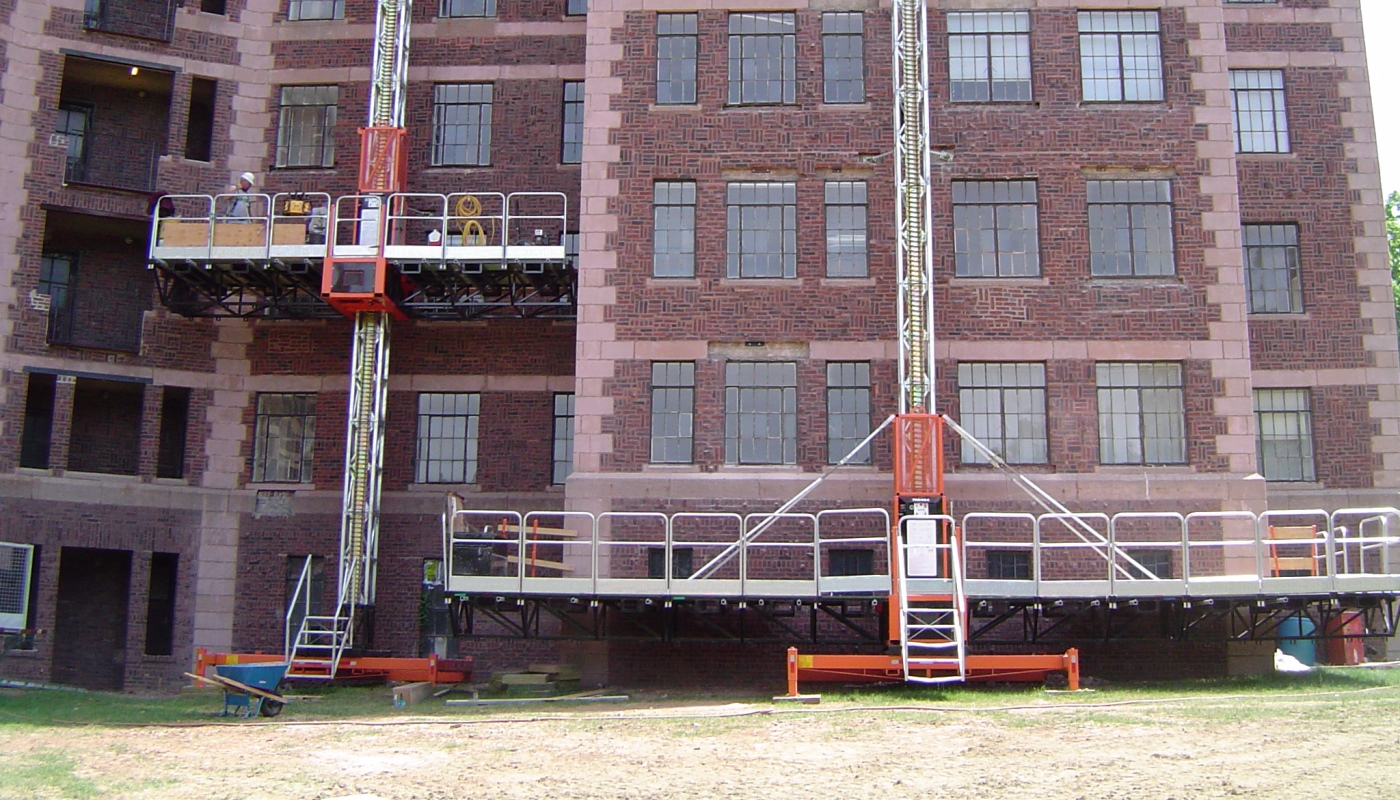 Mast Climbers from Seacoast Scaffold (Boston, Portland ME, Hartford CT)